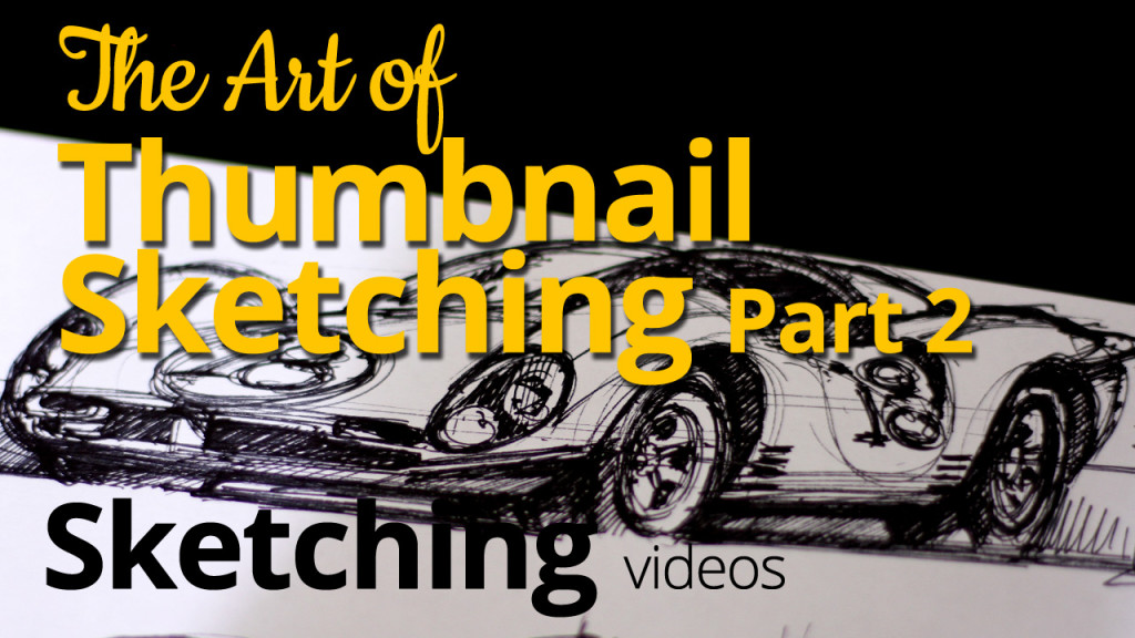 Art of Thumbnail Sketching 3