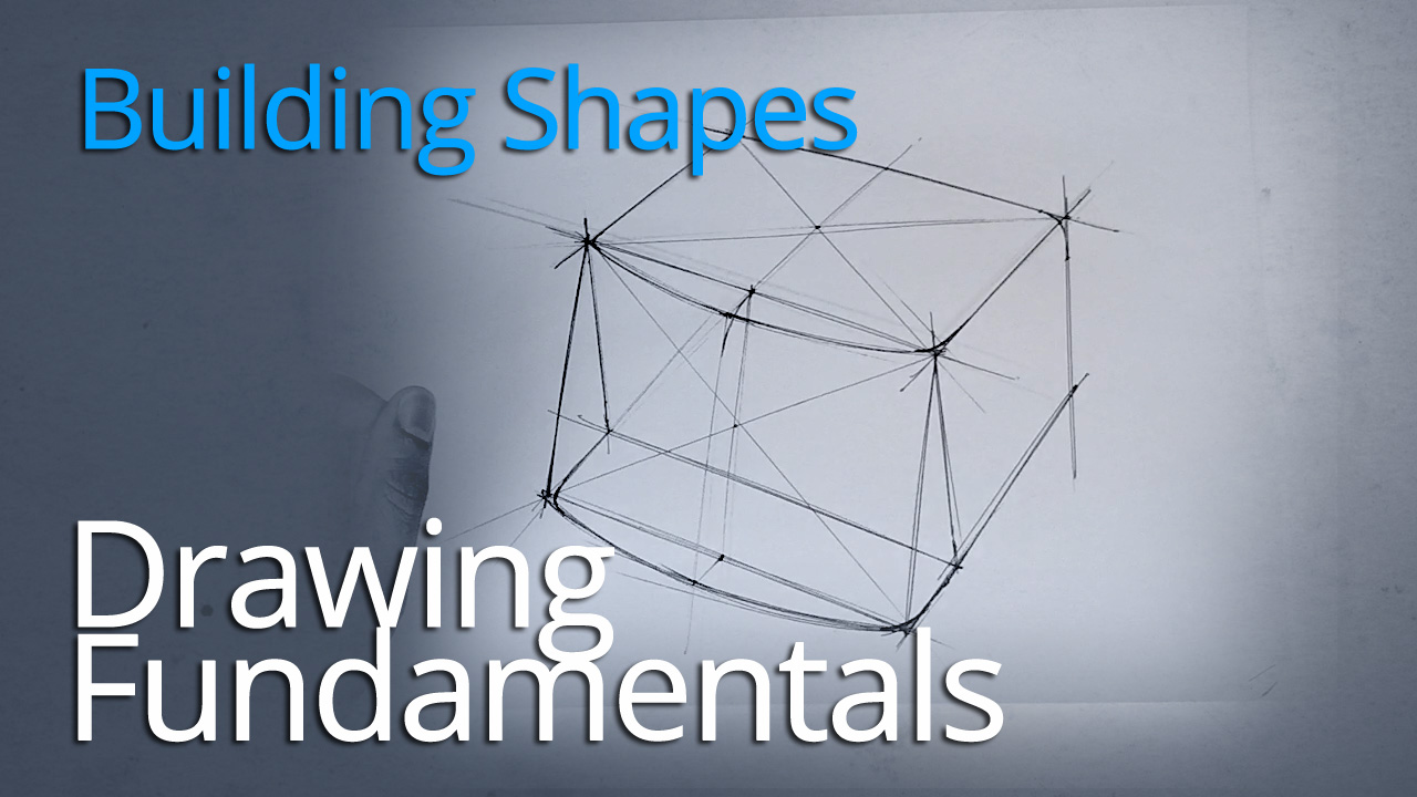 DRAWING FUNDAMENTALS SERIES : BUILDING BASIC FORMS IN TWO POINT PERSPECTIVE