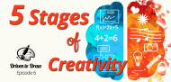 Driven to Draw Five Stages of Creativity