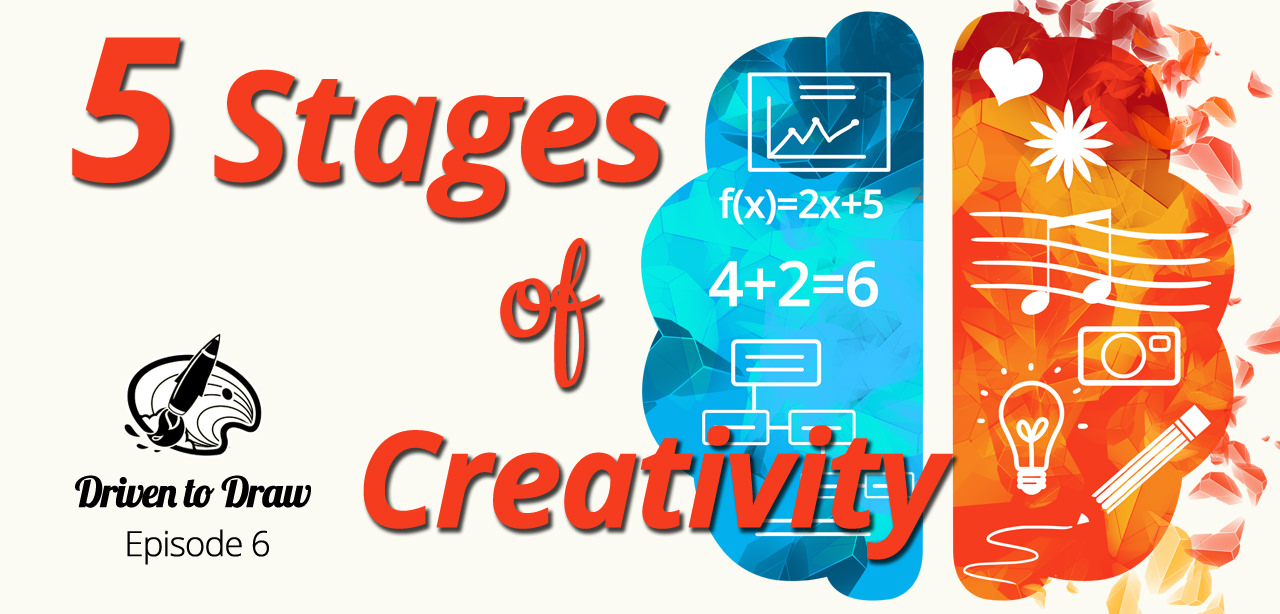 DTD Episode 6: The 5 Stages of Creativity for Product Development! post image