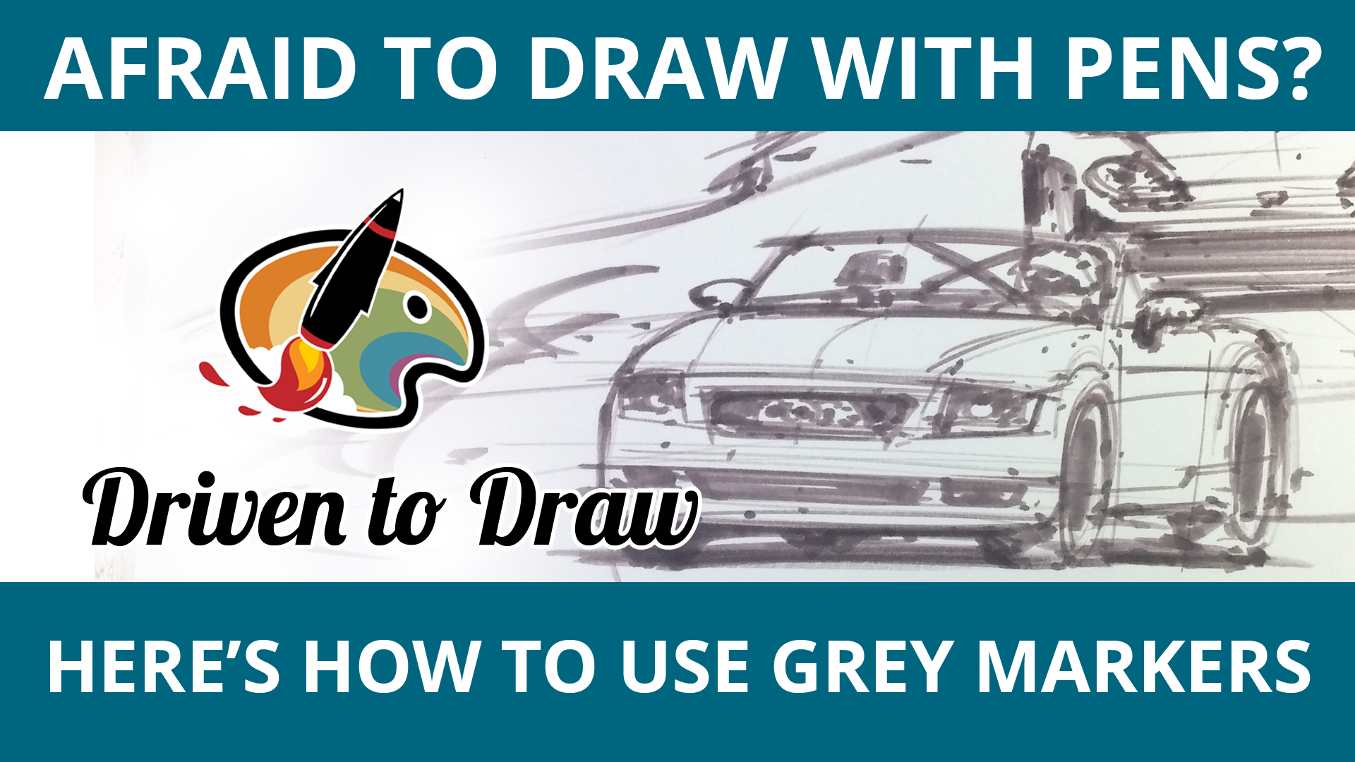 HOW TO USE GREY MARKERS WHEN SKETCHING