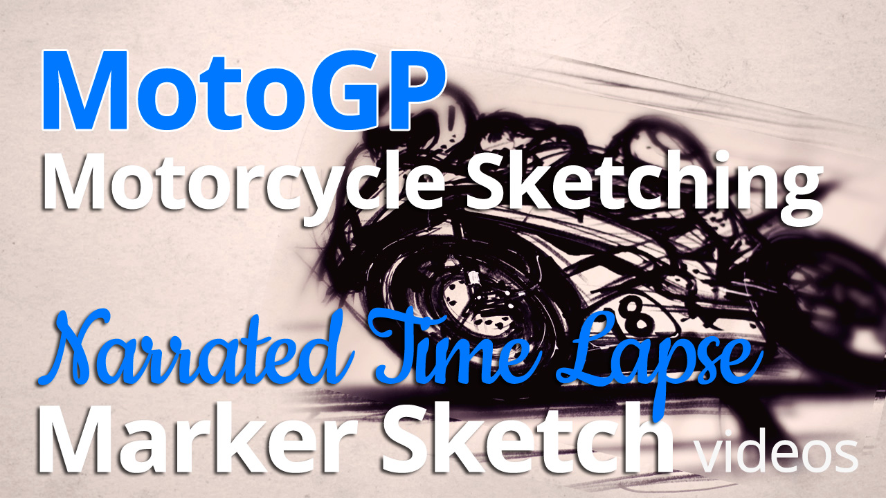 MotoGP motorcycle sketching_1