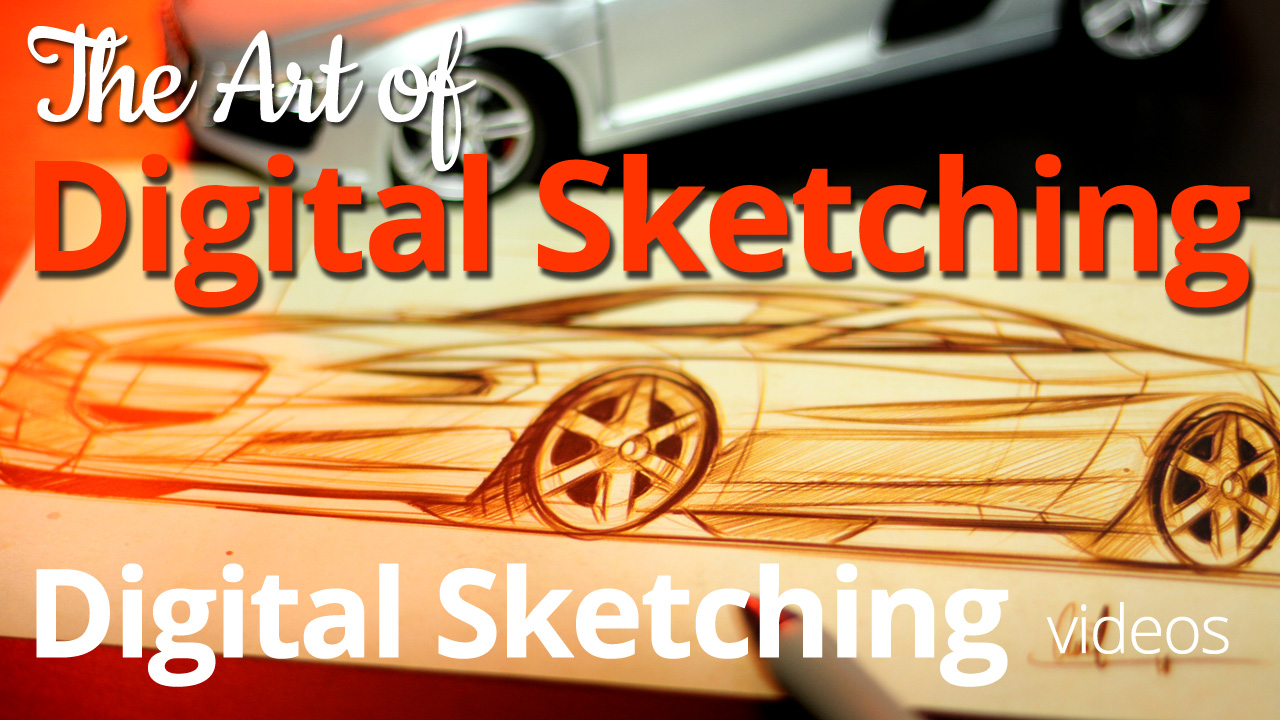 Digital Sketching: Sketching Cars with the Fujitsu Lifebook post image