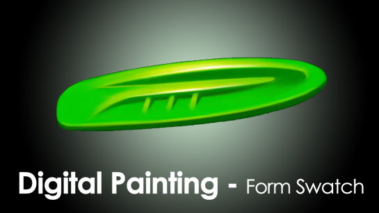 DIGITAL PAINTING|CREATING FORM SWATCHES USING PHOTOSHOP