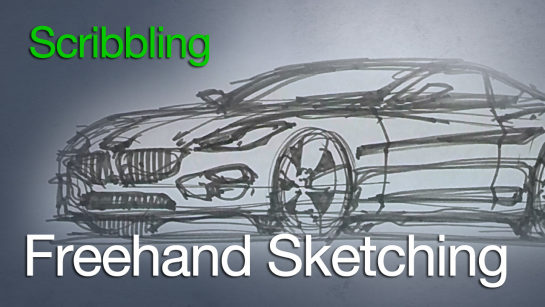 Sketching: Freehand Sketching and Scribbling Techniques