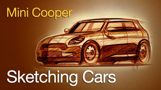 Digital Sketching: Sketching the Mini Cooper