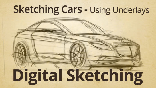 DIGITAL SKETCHING | USING UNDERLAYS